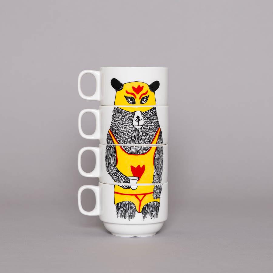 El Guapo Coffee Cup Set