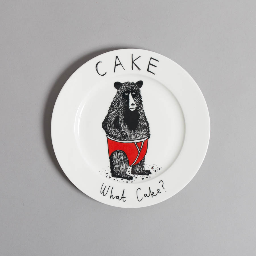 Cake,What Cake? Side Plate