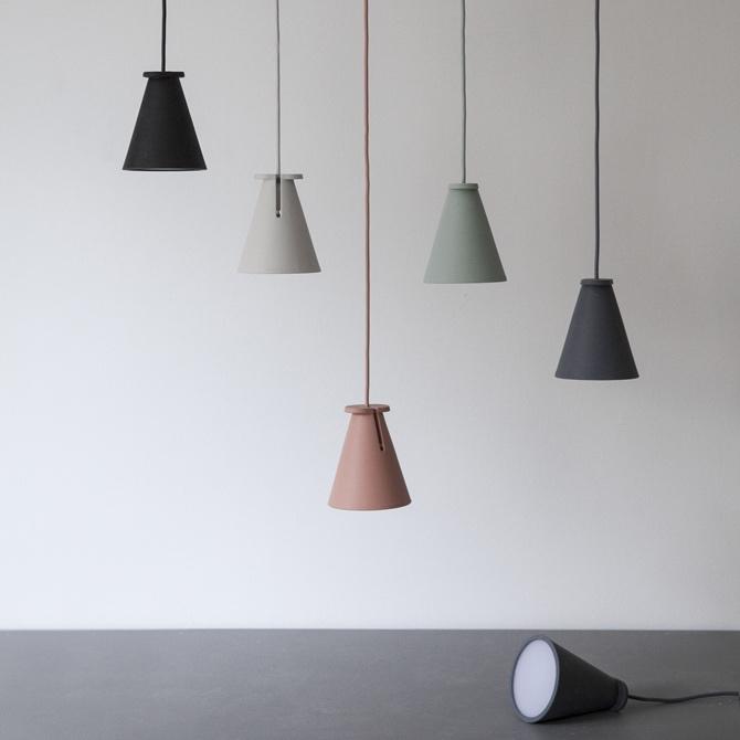 Bollard Lamp Ash