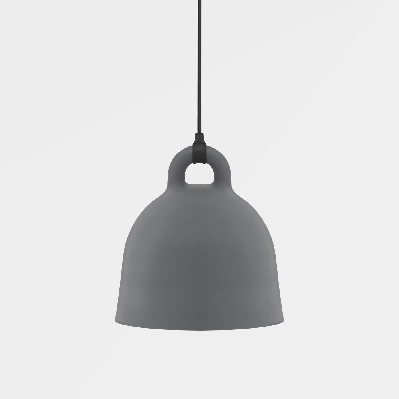 Bell Lamp Grey