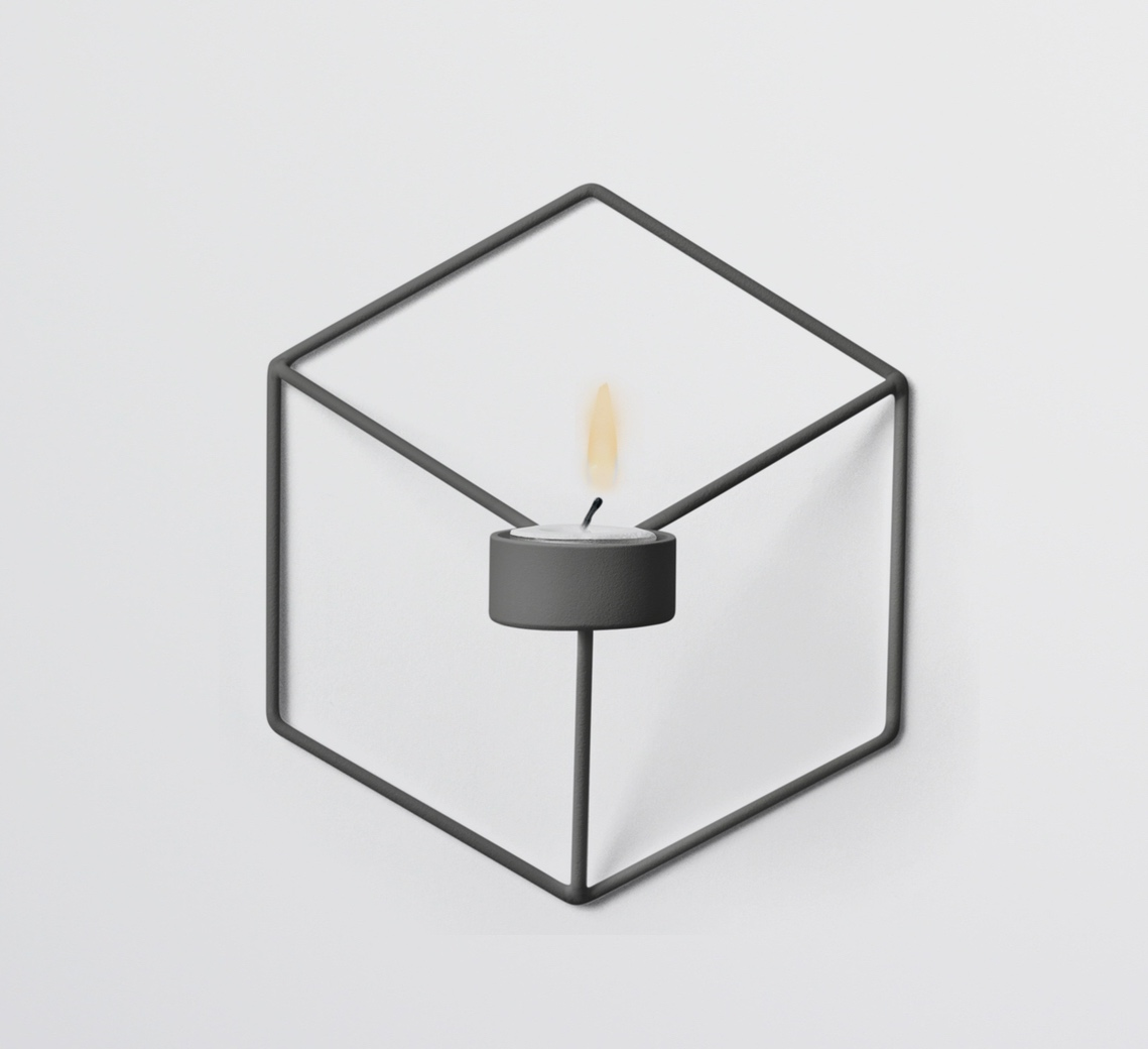 Pov Wall Candle Holder