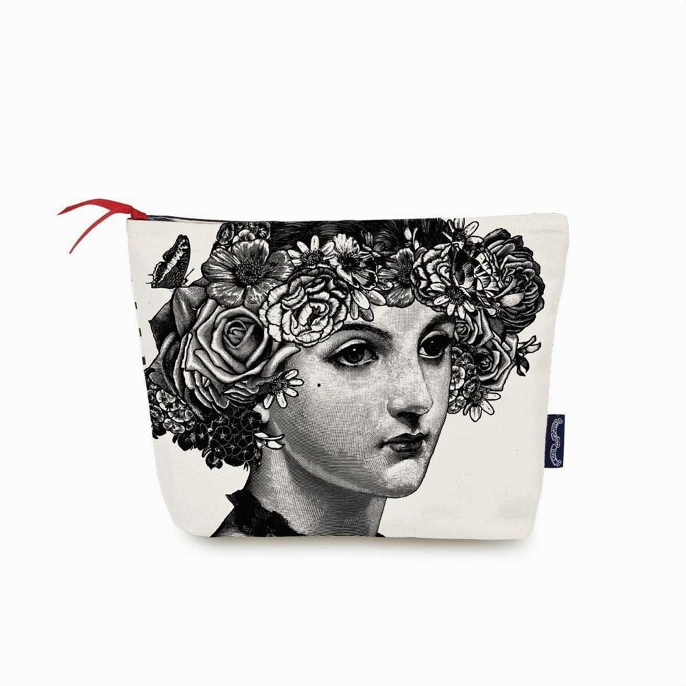 Flower Lady Wash Bag