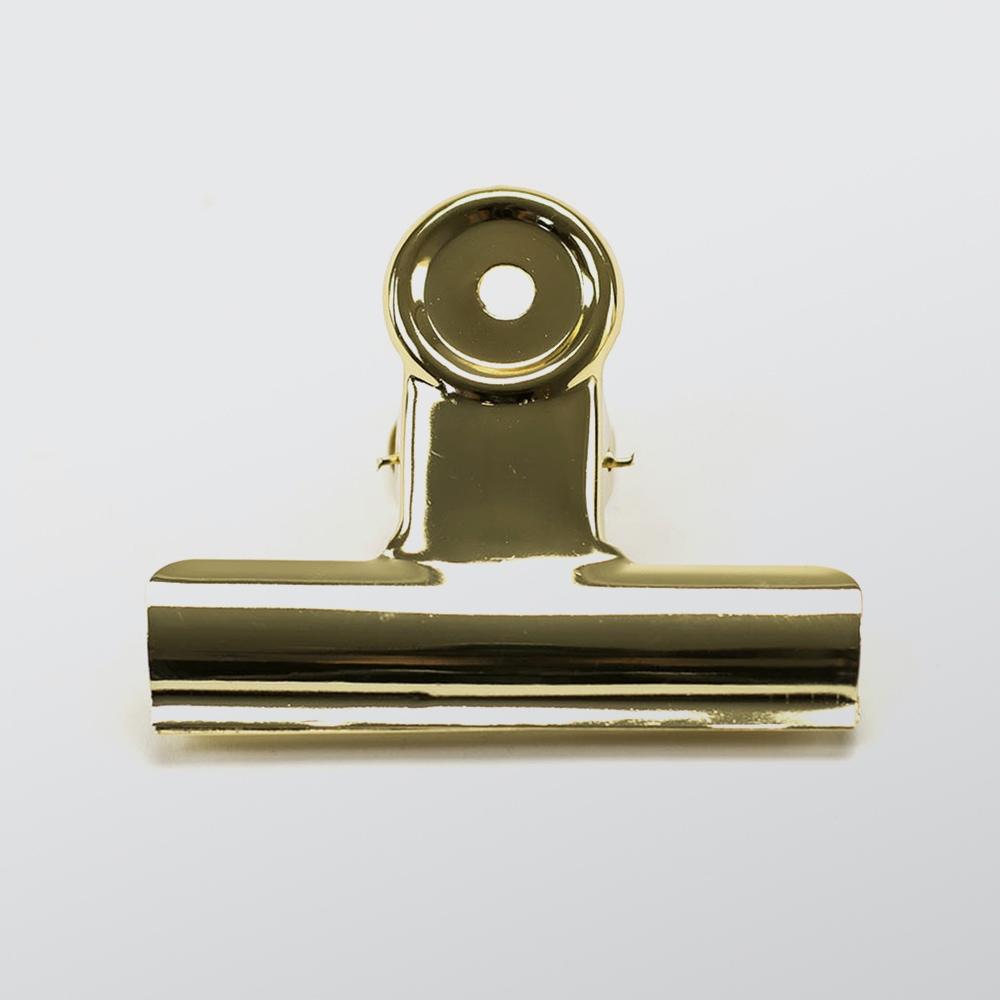 Bulldog Clip Brass