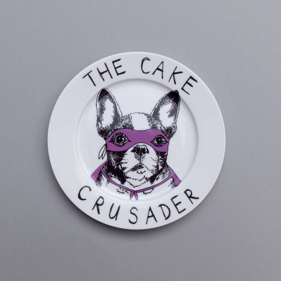 Cake crusader Side Plate