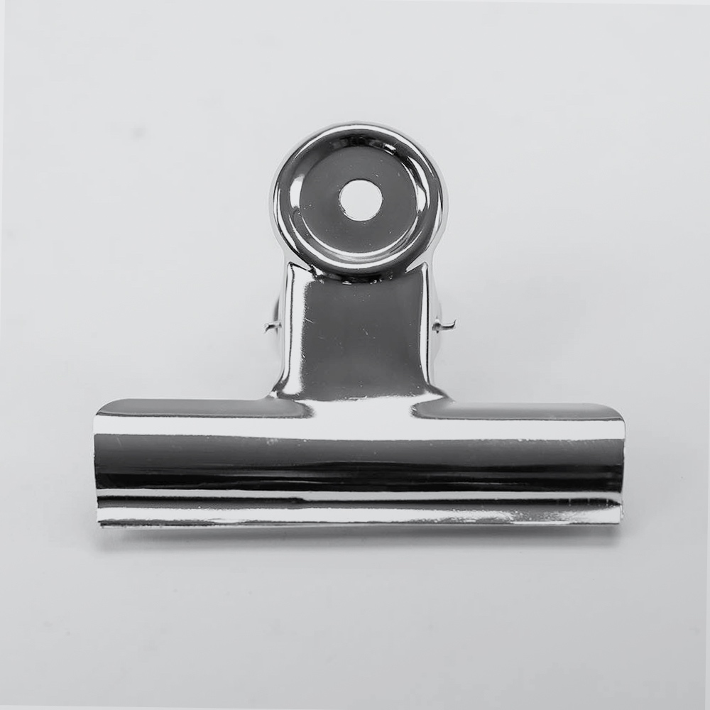 Bulldog Clip Chrome