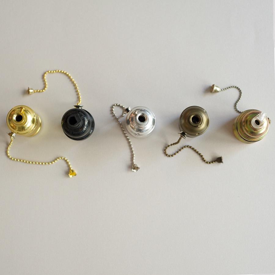 Zipper switch bulb holder