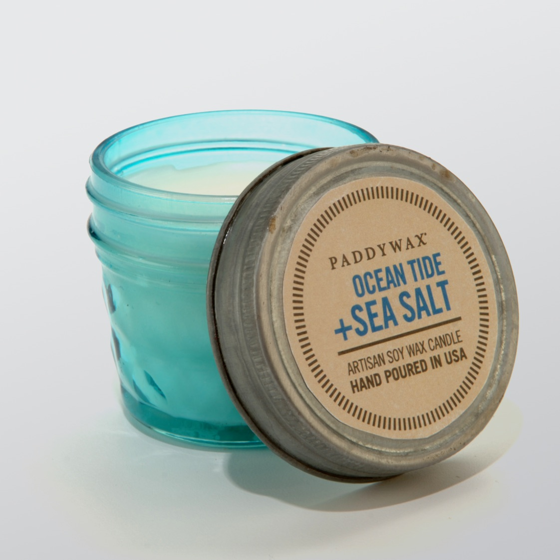 Ocean Tide & Sea Salt Relish Jar Candle