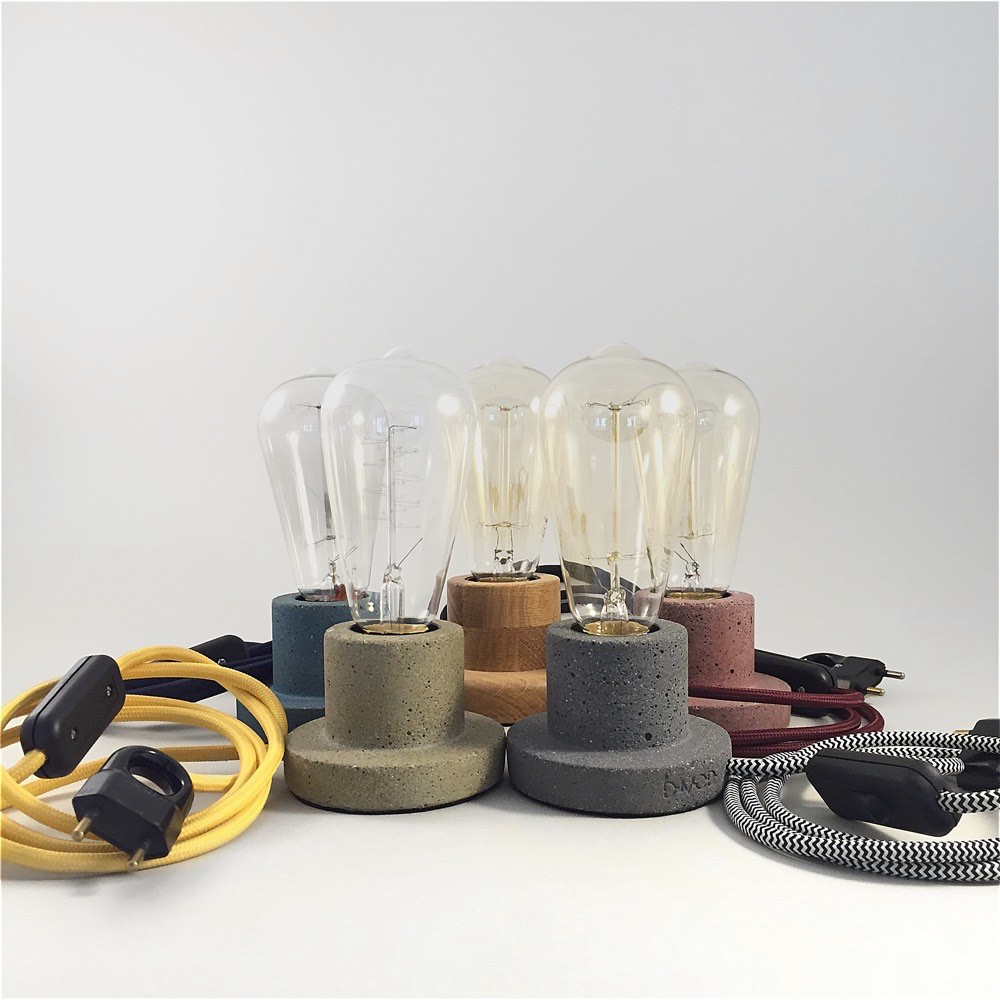 Tabletop Lamp – Various Colours