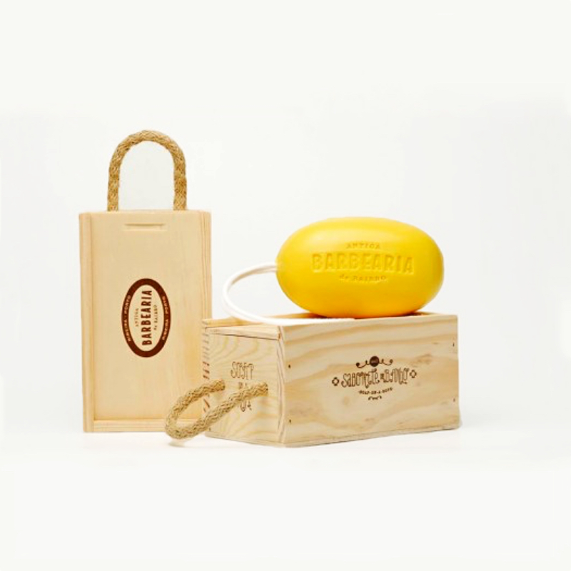 Soap on a rope – Gift box