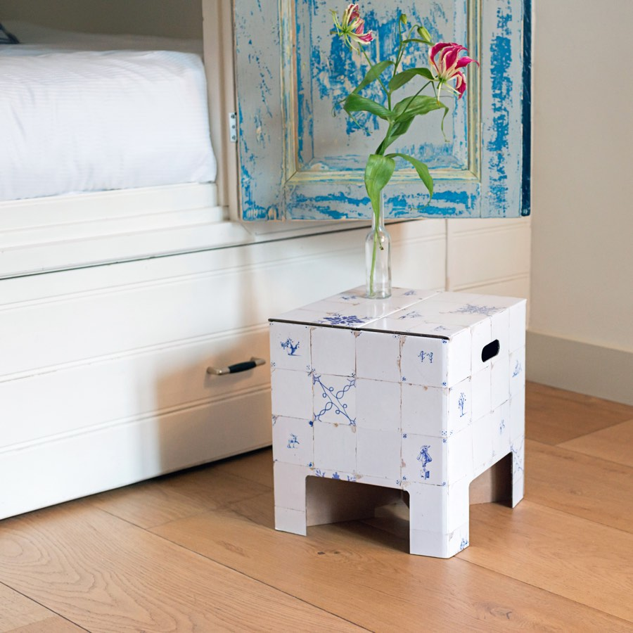 Dutch Design Chair Antique Dutch tiles