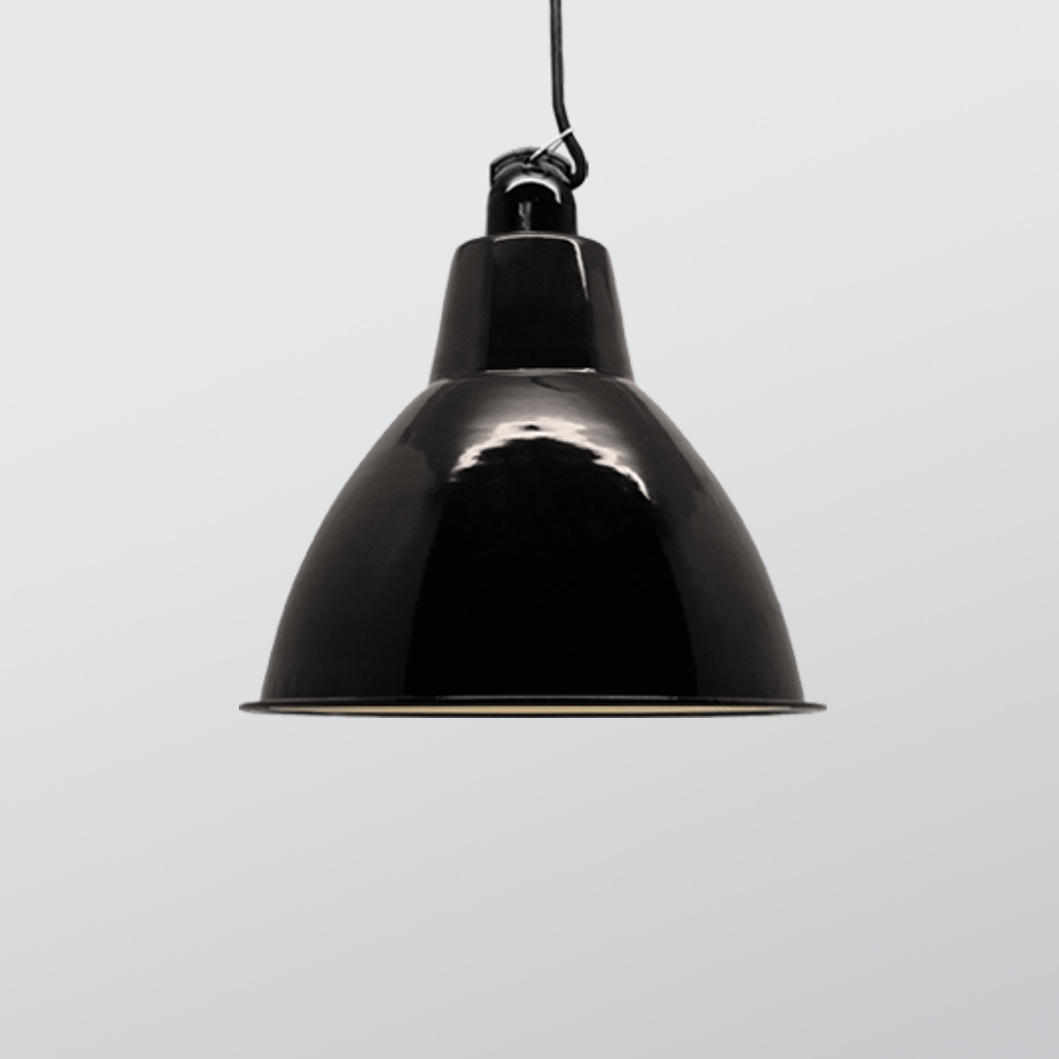 Dome Enamel Shade Black