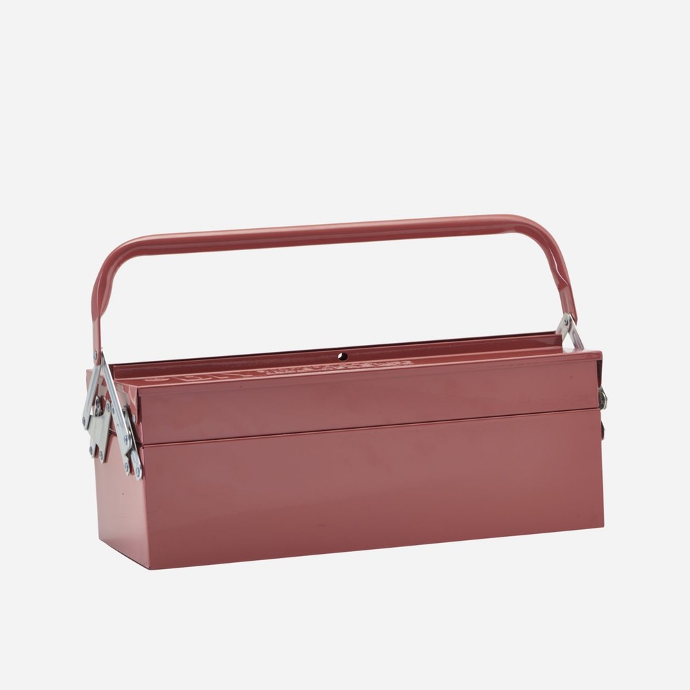 Toolbox Rust Red