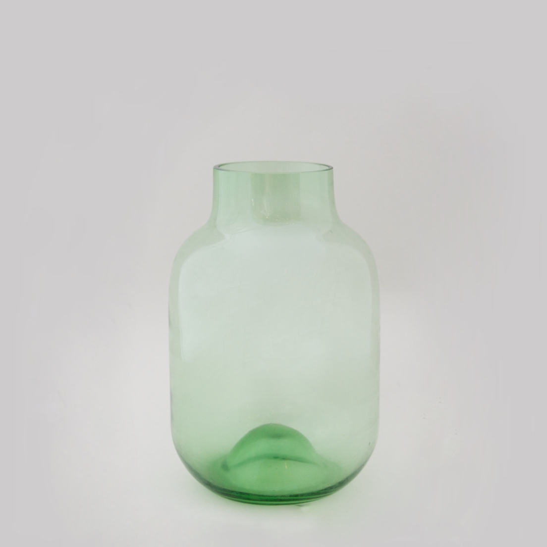 Shaped Vase Green