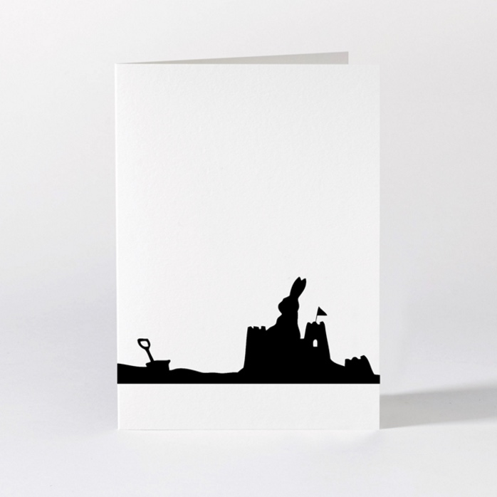 Seaside Rabbit Card