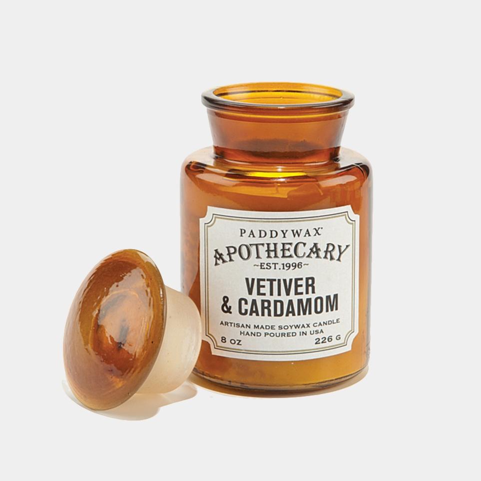 Vetiver & Cardamon Apothecary Candle