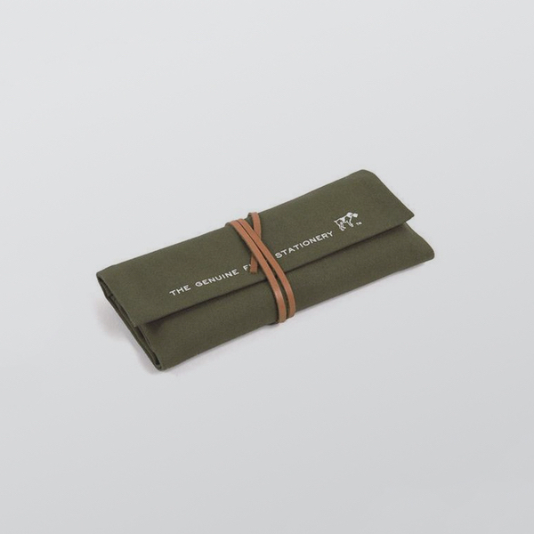 Roll Pen Case Khaki