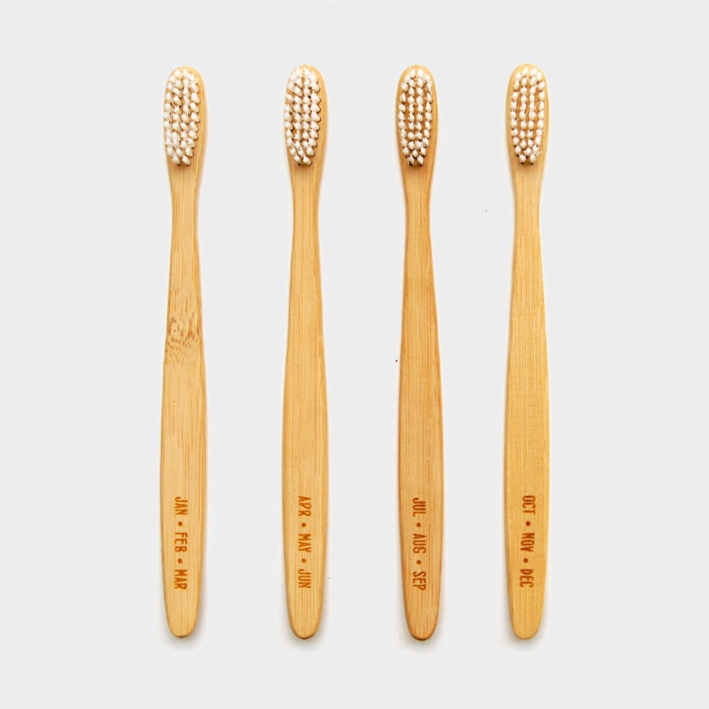 Months Bamboo toothbrushes