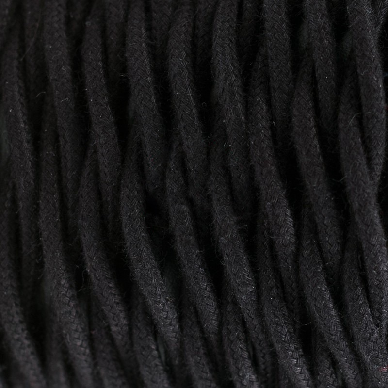 Black Cotton Twisted