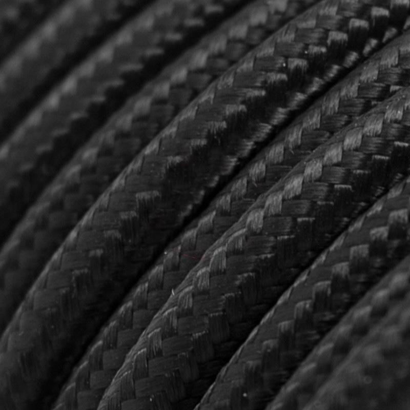 Black Rayon Round