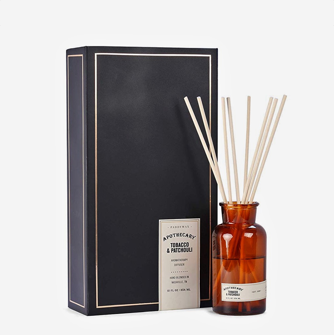 Tobacco & Patchouli Apothecary Oil Diffuser Set