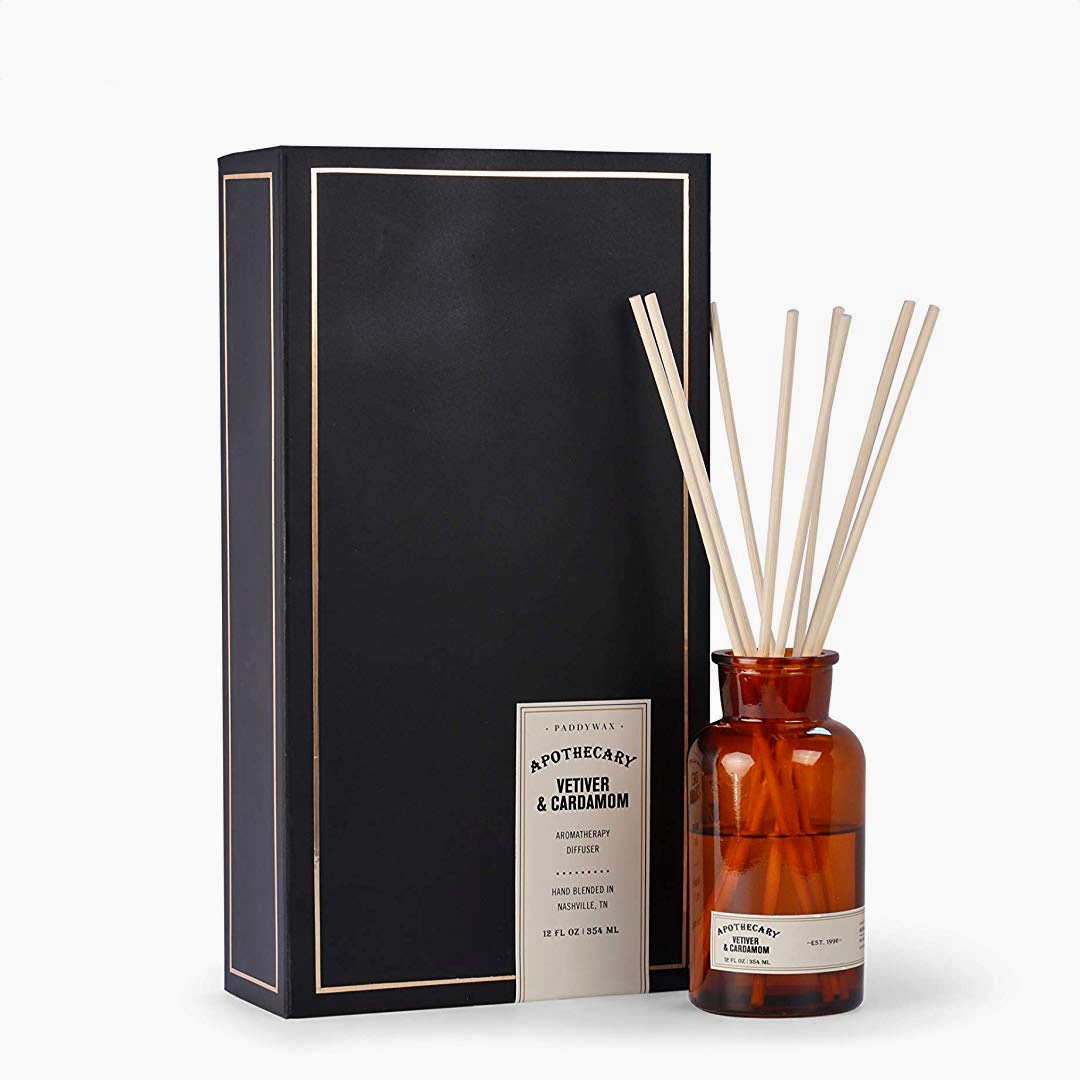 Vetiver & Cardamom Apothecary Oil Diffuser Set