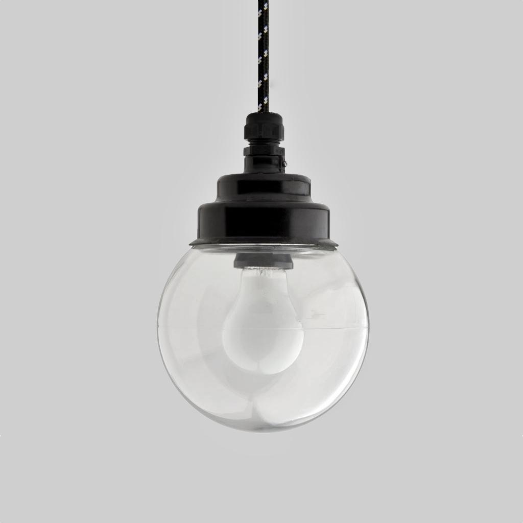 Bakelite lamp round