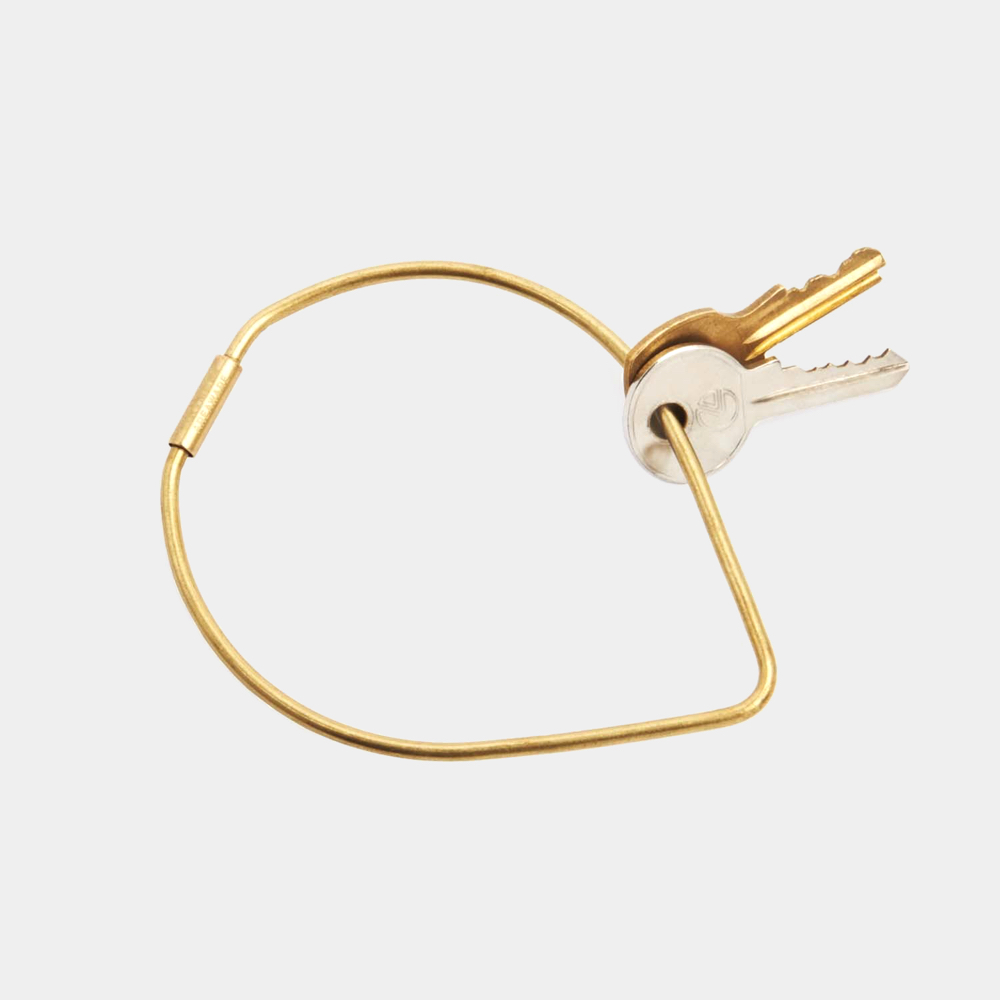 Contour Key Ring – Drop