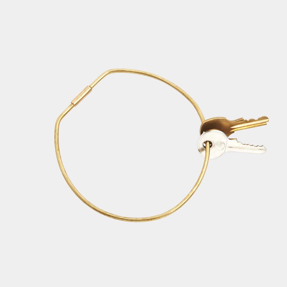 Contour Key Ring – Hoop