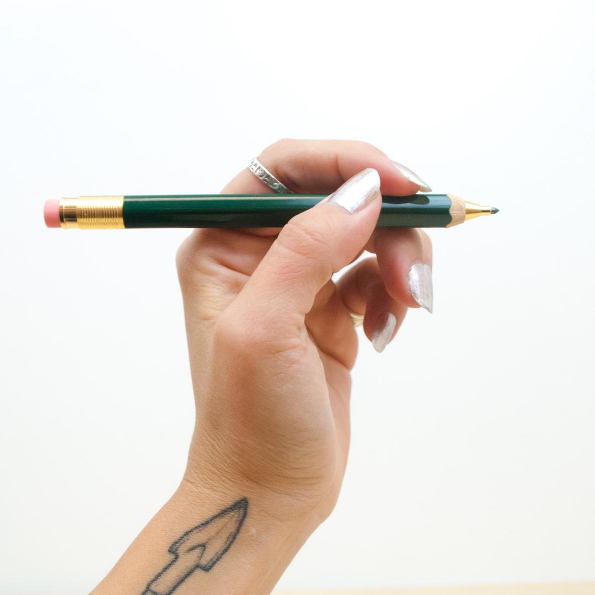 Ohto Sharp Pencil Green