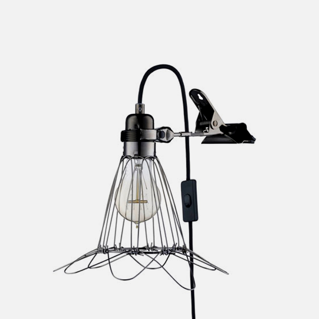 Work Lamp de Lux Black