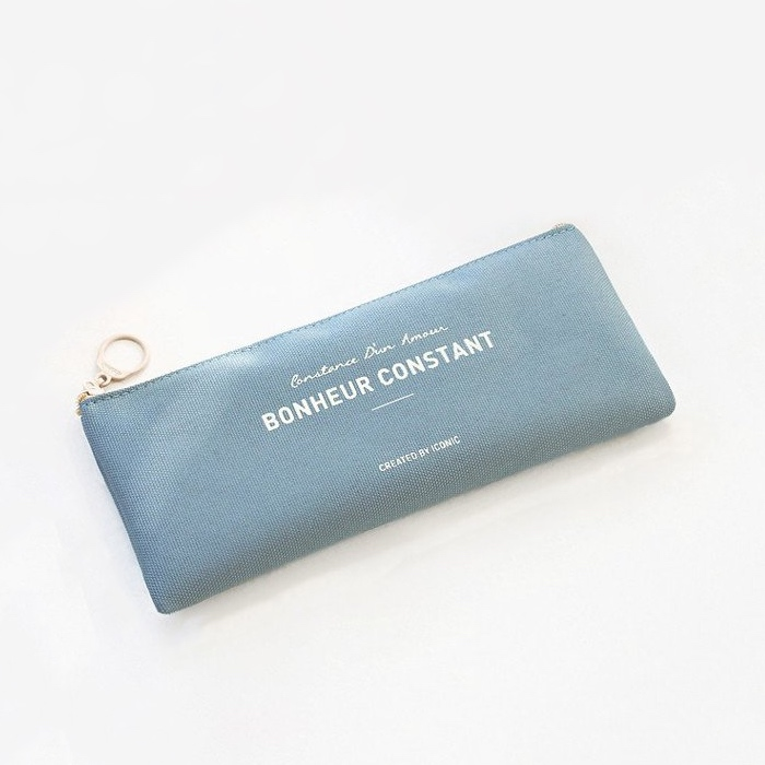 Basic pencil case indi blue