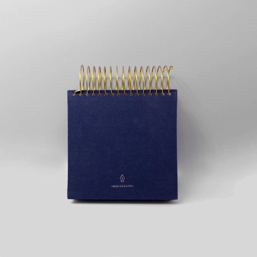 Spiral Notebook Blue