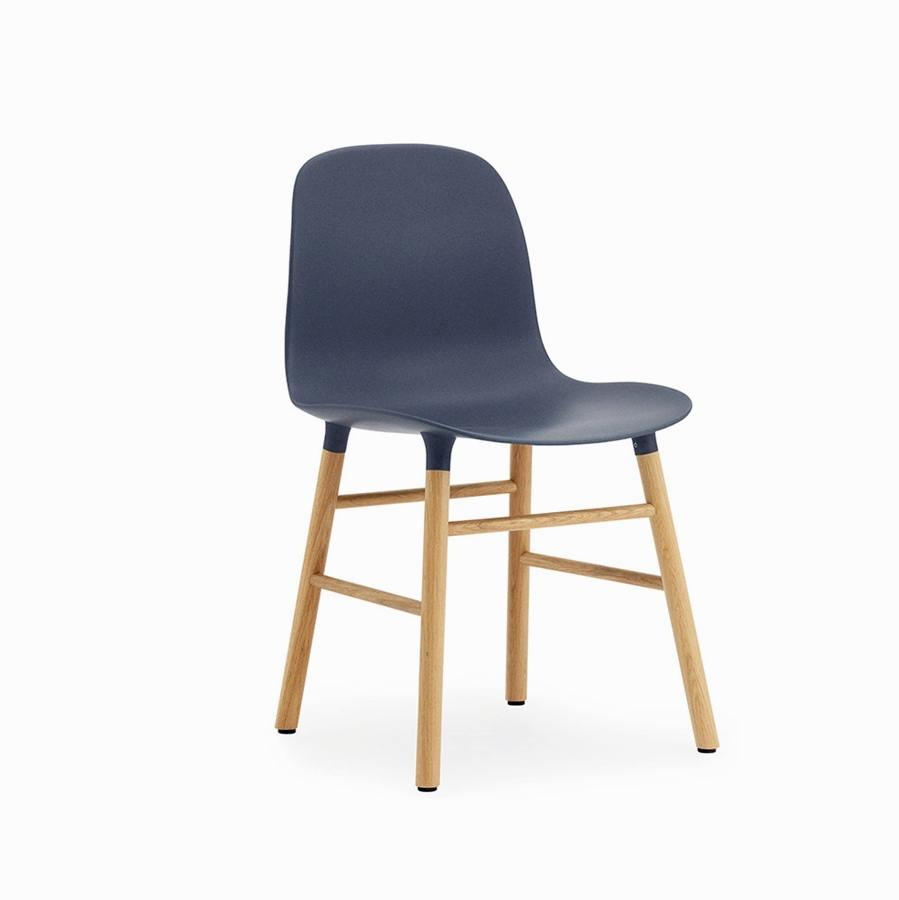 Form chair oak