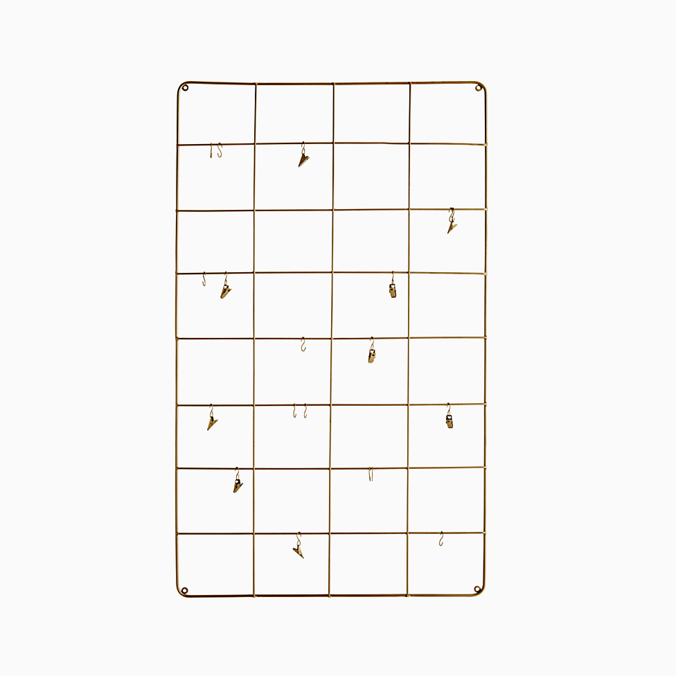 Brass Wire Memo Board