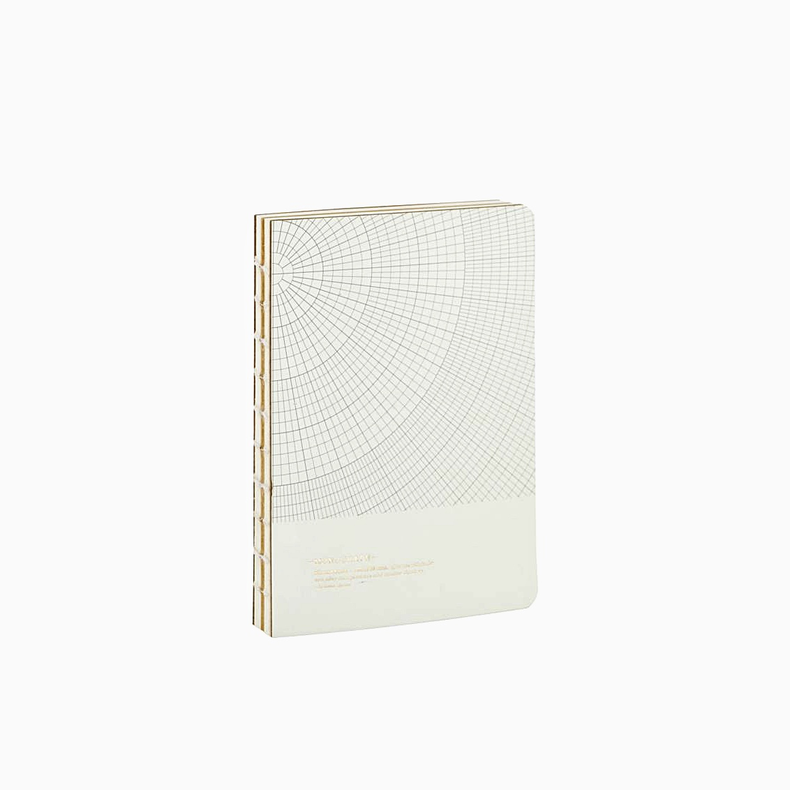 Notebook Geometric Grey Small