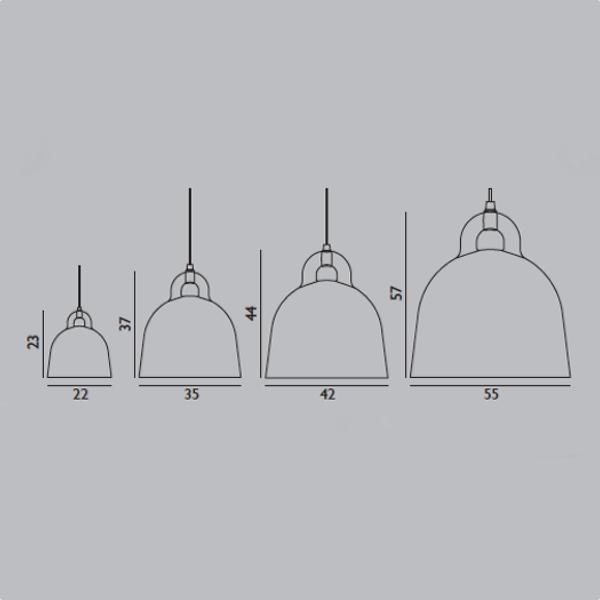 Bell Lamp White