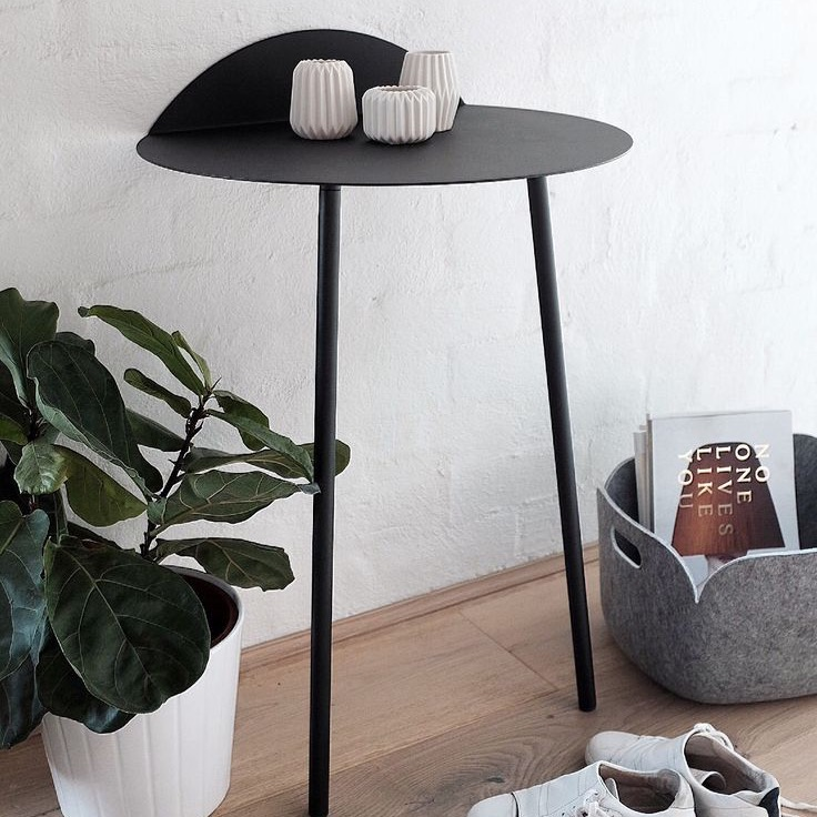 Yeh Wall Table Tall Black ...