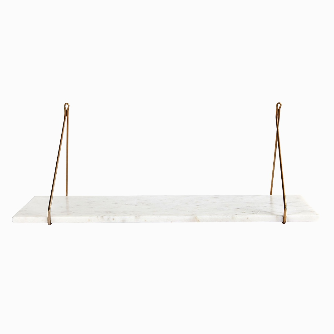 Marble Shelf White