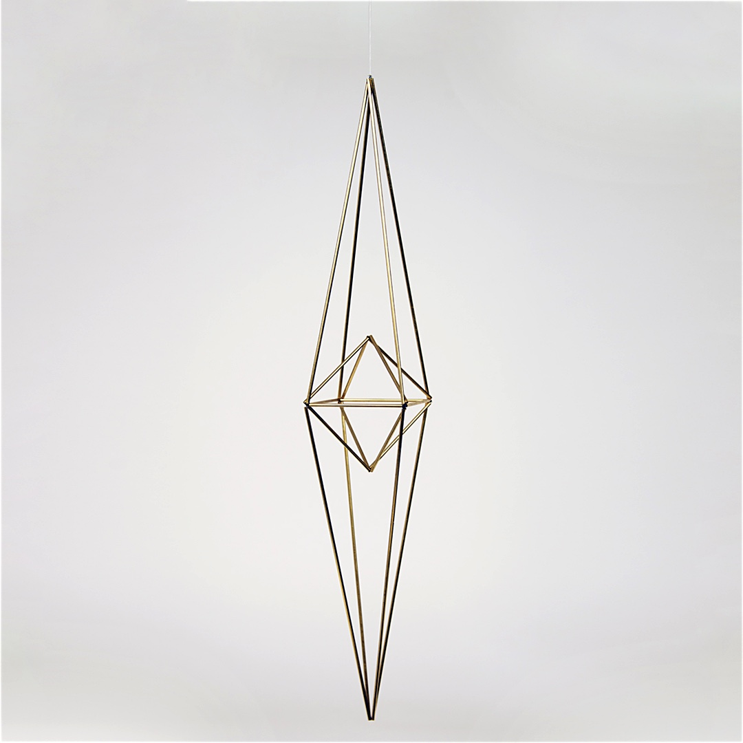 Himmeli Polygon Brass