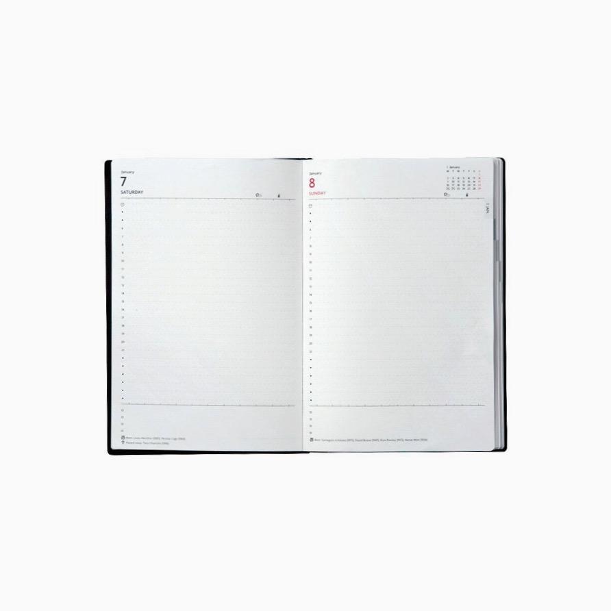 B6 Diary Planner 20 White