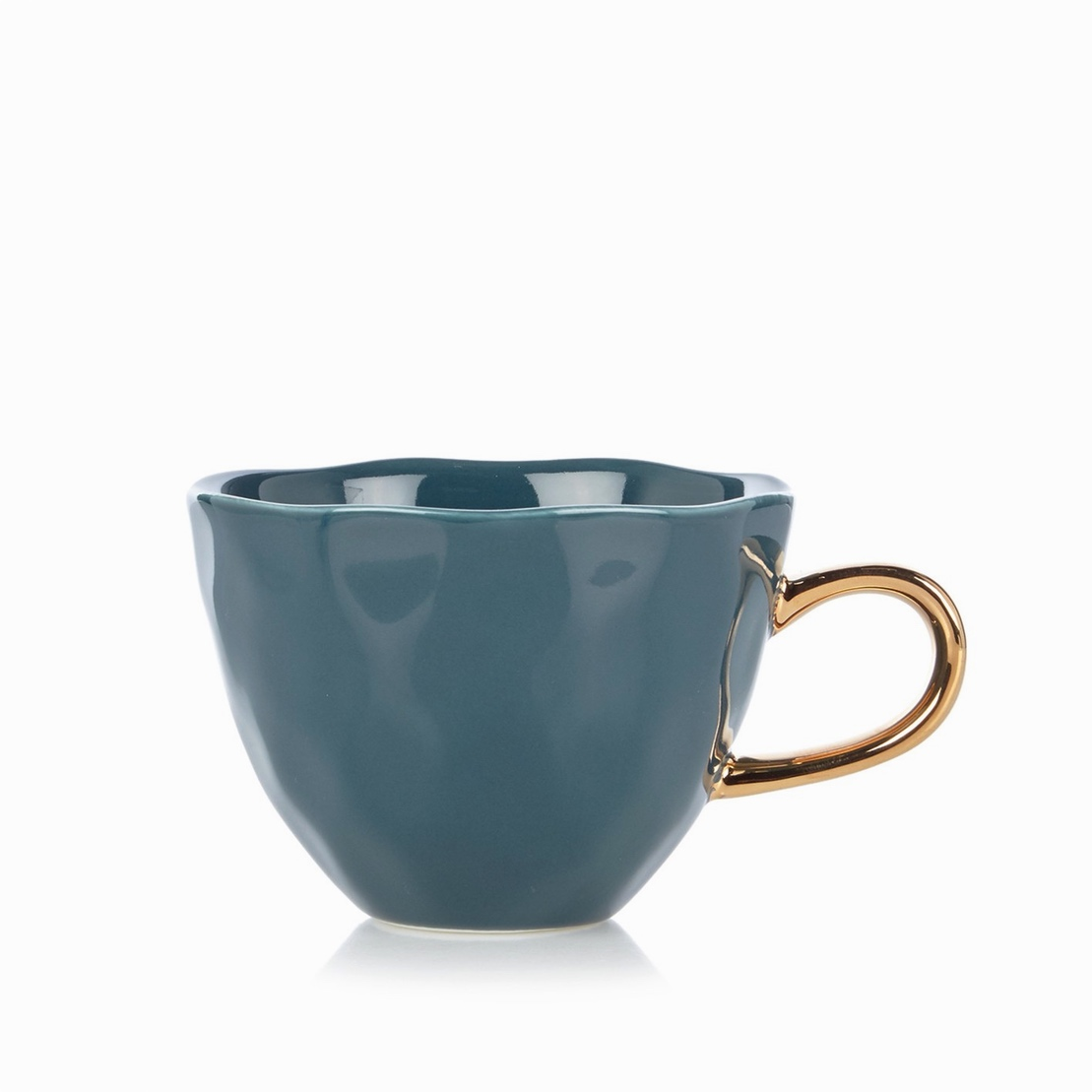 Good morning mug Blue Green