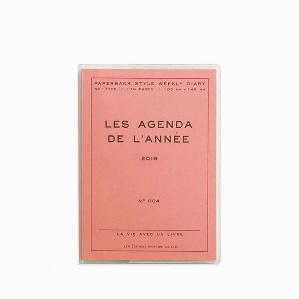 A6 Les Agenda De L'année 2019 Pink