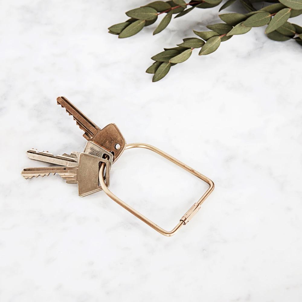 Key Ring Port Brass