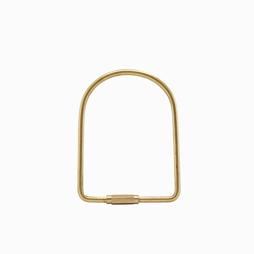 Key Ring Port Brass