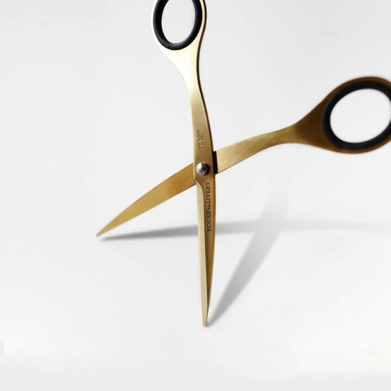 Scissors 6.5″ Gold