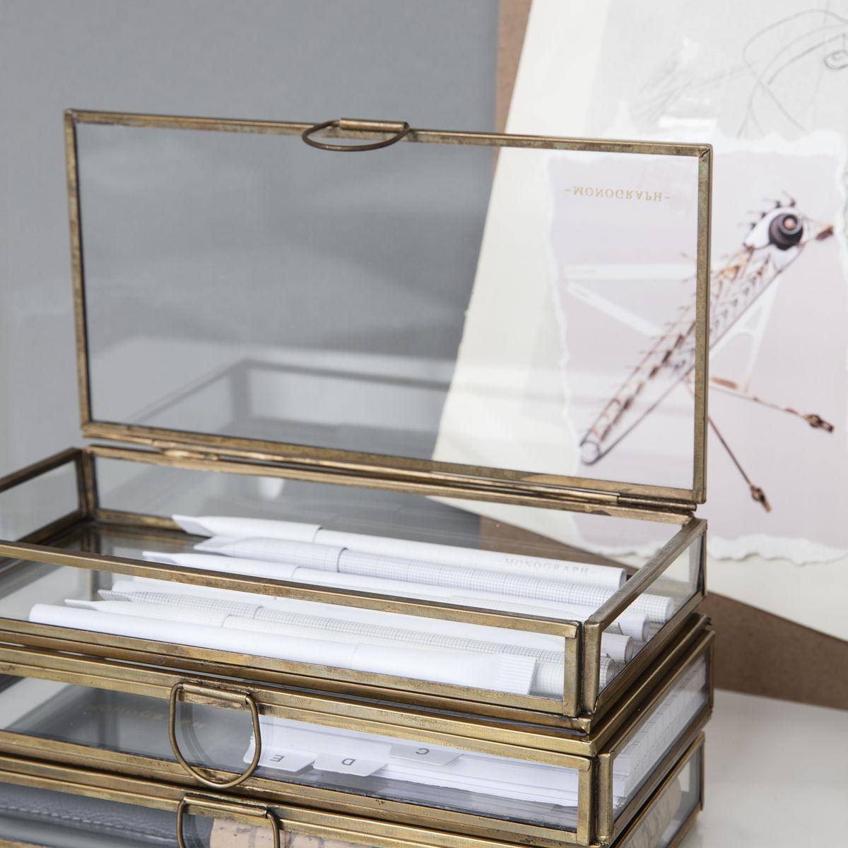 Iron & Glass Display Case