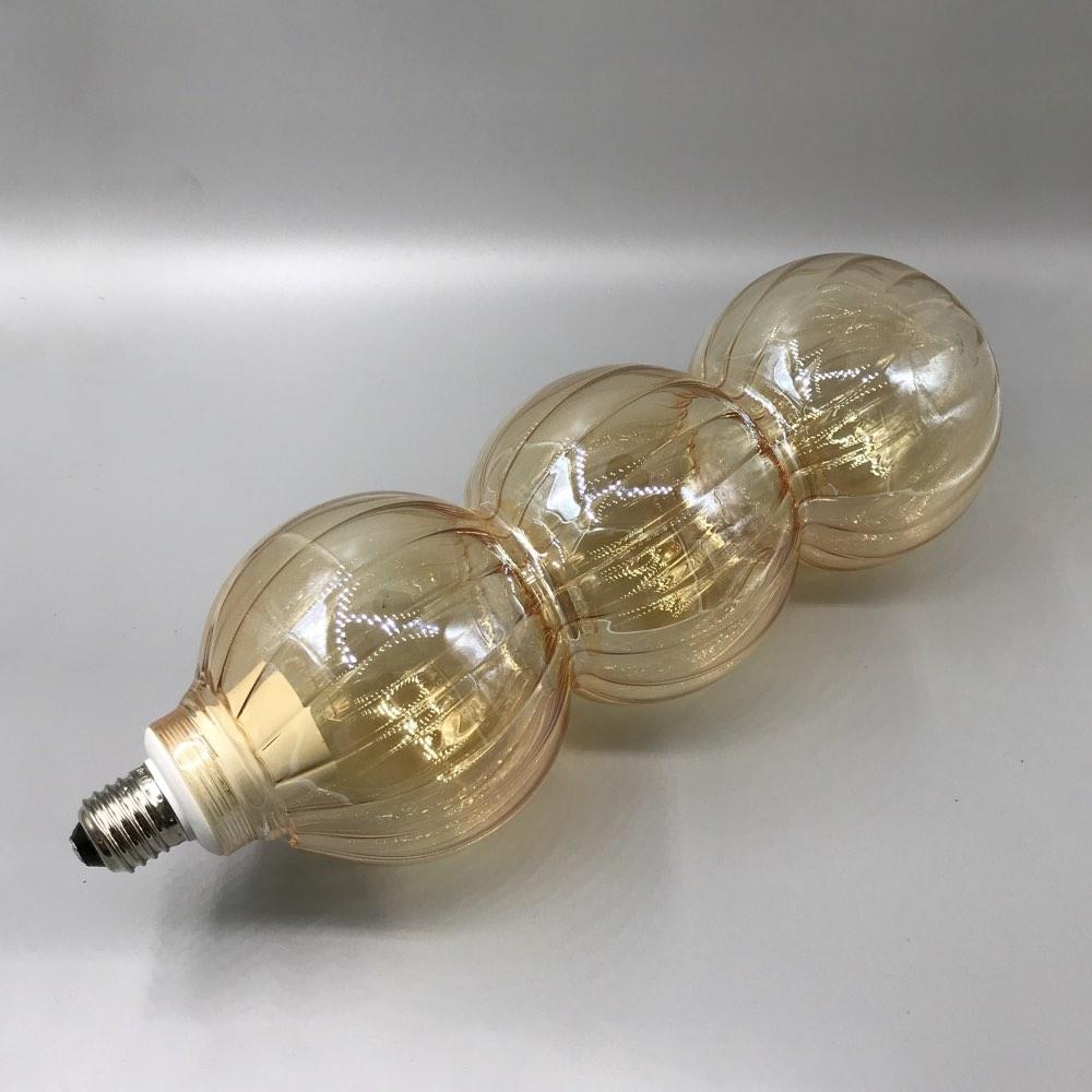 Lined light long amber