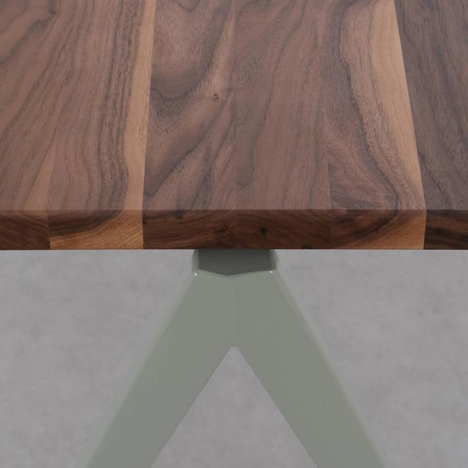 Compass Table Walnut