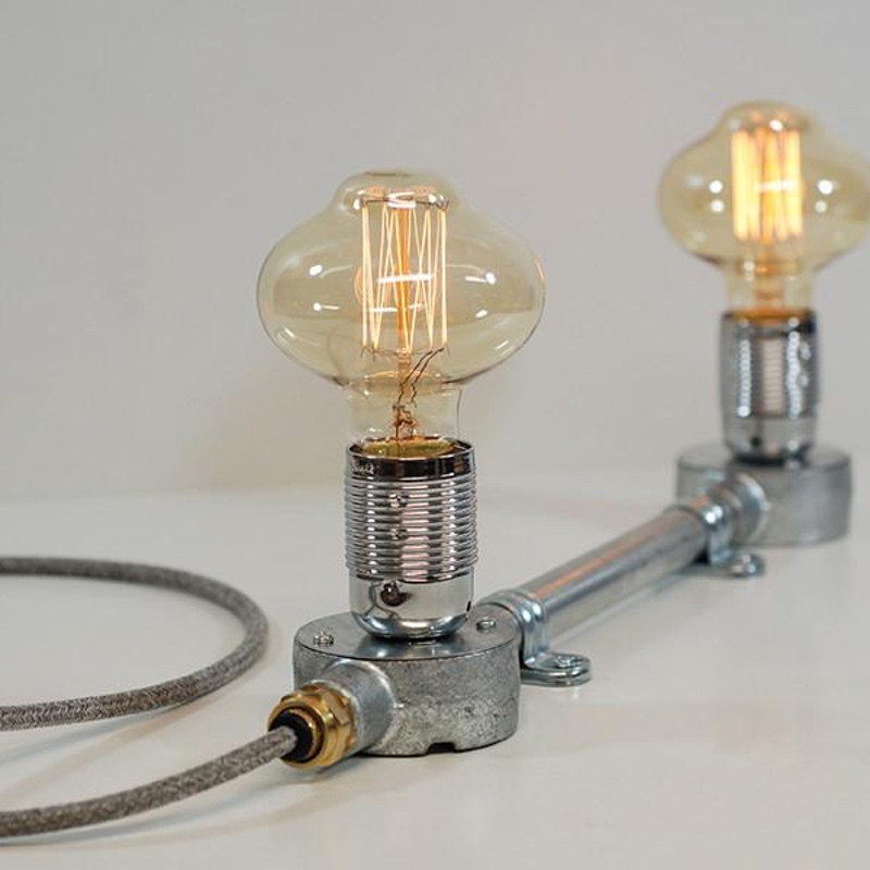Double Conduit Box Lamp