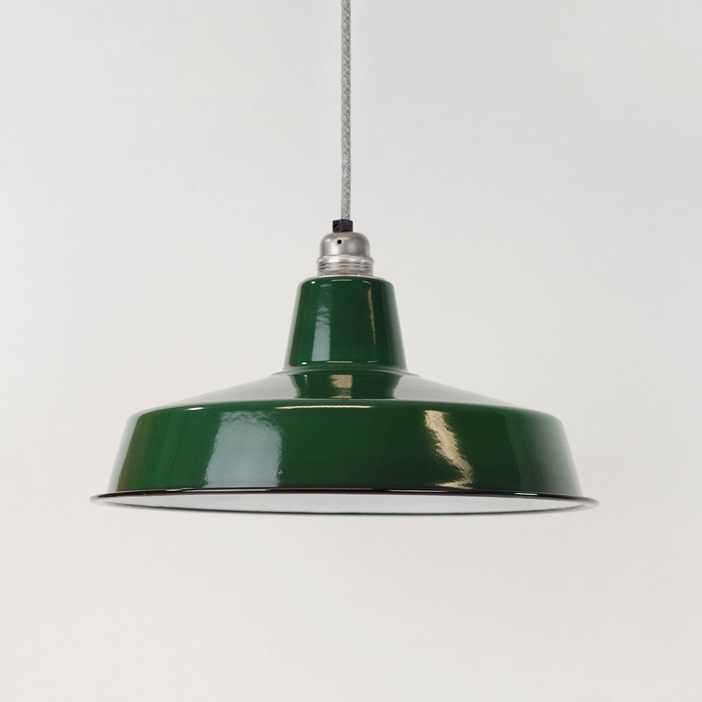 Enamel Shade Deep Green